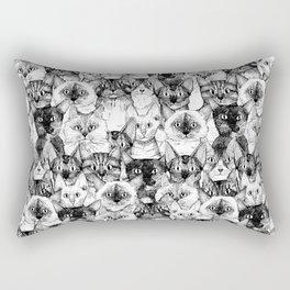 just cats Rectangular Pillow