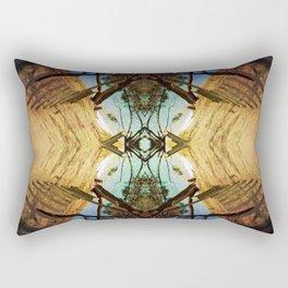 The path to paradise Rectangular Pillow