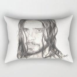 jared... wet. Rectangular Pillow