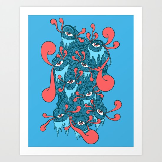 Of the Beholder Art Print