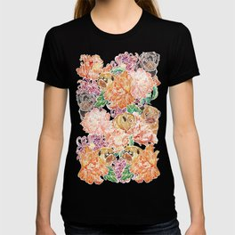 Because Pugs Watercolor T-shirt