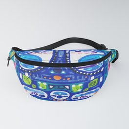 A Blue Night Fanny Pack