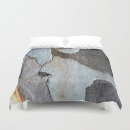 Peeling Bark Of A Eucalyptus Gum Tree Duvet Cover