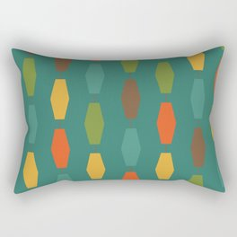 Colima - Teal Rectangular Pillow