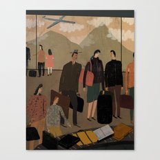Frequent Travelers Canvas Print