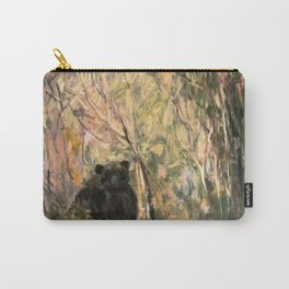 My Curious & Gentle Bear Carry-All Pouch