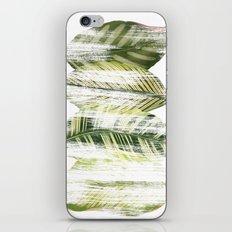 Brushed leaves iPhone & iPod Skin
