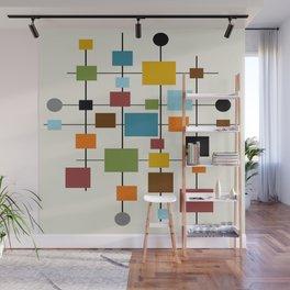 Mid-Century Modern Art 1.3 Wall Mural