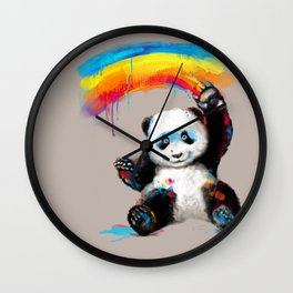 Giant Painter Wall Clock