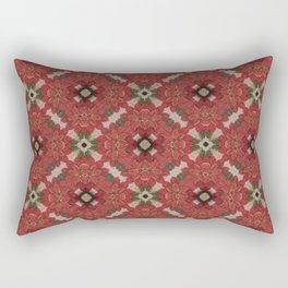 Flowers and Spheres Rectangular Pillow