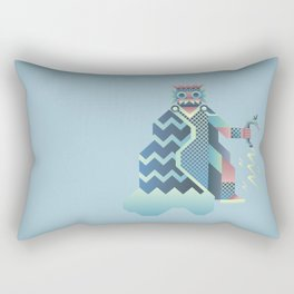 Tlaloc Rectangular Pillow