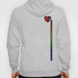 rainbow blood Hoody