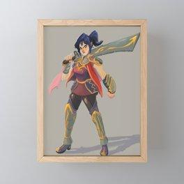 Warrior Diana Lang Framed Mini Art Print
