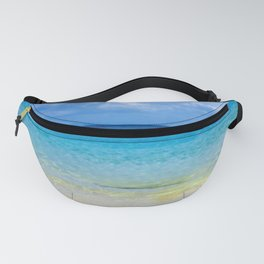 Serene and peaceful ocean Fanny Pack