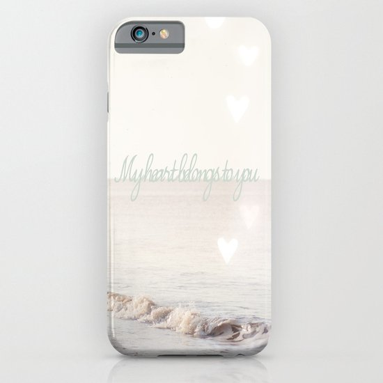 My heart belongs to you iPhone & iPod Case
