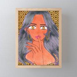 Aiesha Tonie's 1st Investigation Framed Mini Art Print