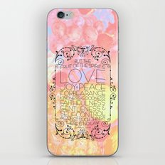 Fruit of the Spirit iPhone & iPod Skin