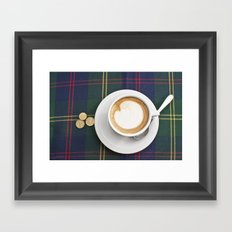 Siena Cappuccino Framed Art Print