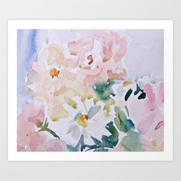 In Love With Spring  Art Print