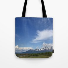 Knik River Tote Bag
