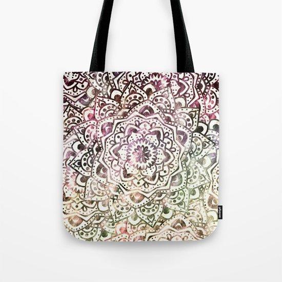 STARRY DAY MANDALA Tote Bag