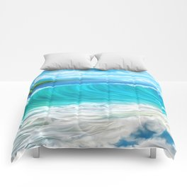 Mermaid's mountain Comforters