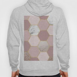 Sensations of the mind rose gold Hoody