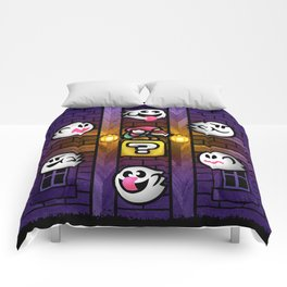 Boos in the Haunted House Comforters