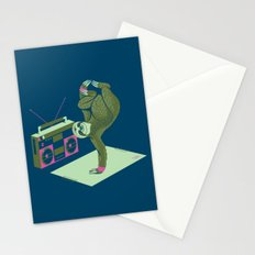 Breakdancing Sloth Stationery Cards