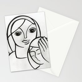 Mother & Daughter Stationery Cards