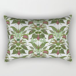Deep Foliage Rectangular Pillow