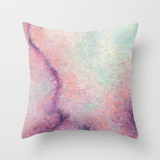Connecting (Pt. 1) Throw Pillow