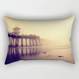 Huntington Beach Pier Rectangular Pillow