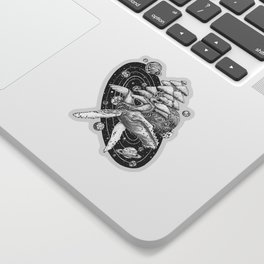 Space Whale Sticker