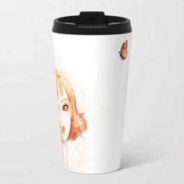 butterfly girl Travel Mug