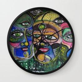 3 rois Wall Clock