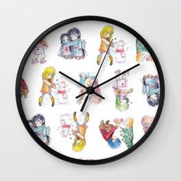 Saint Seiya Xmas Wall Clock