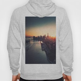 new york city skyline Hoody