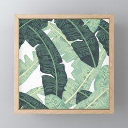 BANANA LEAVES 2 Framed Mini Art Print