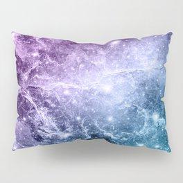 Purple Teal Galaxy Nebula Dream #4 #decor #art #society6 Pillow Sham
