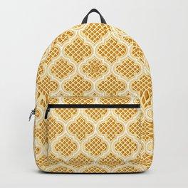 Harem Window (Amber Gold) Backpack