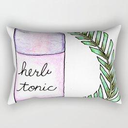 apothecary 4 Rectangular Pillow