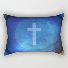 Thanks Be To God Rectangular Pillow