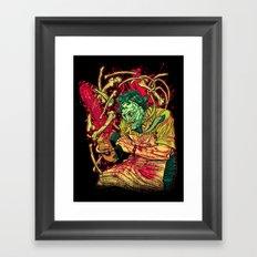 MASSACRE! Framed Art Print