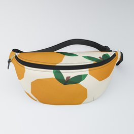 Abstraction_Orange_Fruit Fanny Pack
