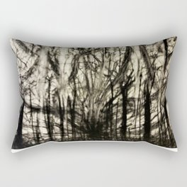 Lost in a Chaos Forest Rectangular Pillow
