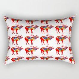 Graphic Dala Elk Multiples Rectangular Pillow