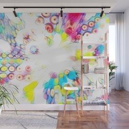 Splashed Milk and Cereal Wall Mural