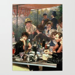 Renoir's Luncheon of the Boating Party & Grease Poster