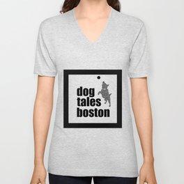 Dog Tales Boston 2018 Unisex V-Neck